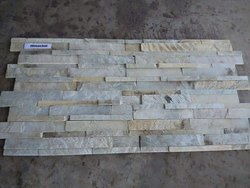 Himachal White Ledge Stone Panel