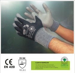 Ultrafit Seamless Knitted Gloves With Elastance