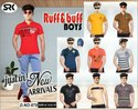 Ruff Buff Boys Collar T - Shirts