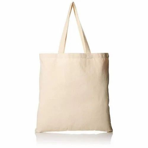 Cotton Plain Cloth Bag, Capacity: 3-5 Kg, for Grocery
