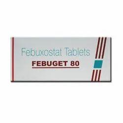 Febugate Febuxostat Febuget 80 MG Tablet, 10 Tablets, Non prescription