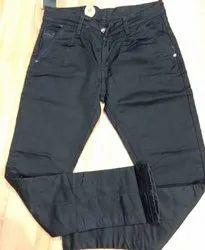 D' Fourteen Cotton Men Black Jeans, Waist Size: 28 to 34