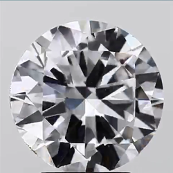 3.01ct Lab Grown Diamond CVD E VS1 Round Brilliant Cut IGI Certified Stone