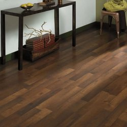 Brown Wooden Laminate Flooring