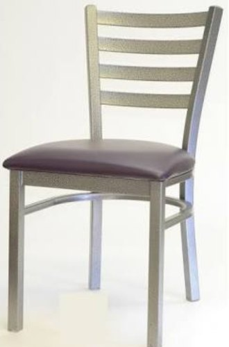 Cool Silver Pu Leather Wooden Chair Machost Co Dining Chair Design Ideas Machostcouk