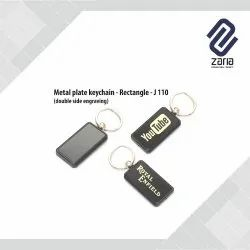 Promotional Metal Plate Key Chain