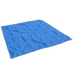 Plain PVC Coated Blue Polyester Tarpaulin Fabric, Thickness: 0.48 Mm, Size: 6 X 18 Feet