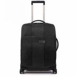 Black Matty Luggage Trolley Bag, Size: 20 Inch