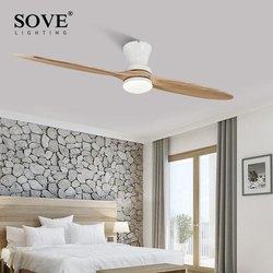35watt Vintage Wooden Ceiling Fan With/Without Decorative Light