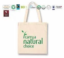 Fair Trade Organic Cotton Recycle Bag