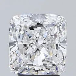 Cushion Cut 3.50ct Lab Grown Diamond CVD E VS1 IGI Certified Stone