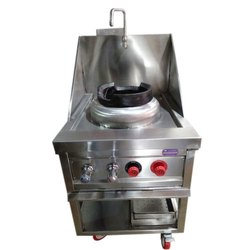Single Burner Chinese Cooking Range