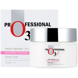 O3  Night Repair Cream for Smoother Younger Facial Skin, 50ml