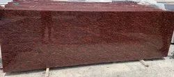 Polished Tumkur purpery Red granite, Thickness: 15-20 mm
