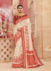 Durga Puja Saree Design