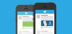 Online Twitter For Promote Mobile App