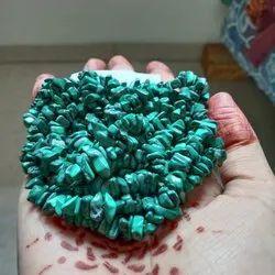 Green Uncut Melachite Mala, For Jewelry Making, Necklace Making