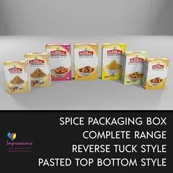 Spice Masala Packaging Boxes