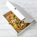 3WC White Corrugated Pizza Box 12 Inch