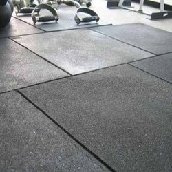 Rubber Flooring Service, Commercial Building