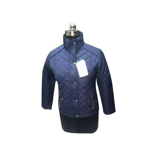 Is Polyester Warm.Warm Line Ladies Quilted Jacket