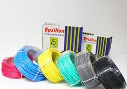 Epsillon 1 sqmm PVC Insulated House Wire, 90m