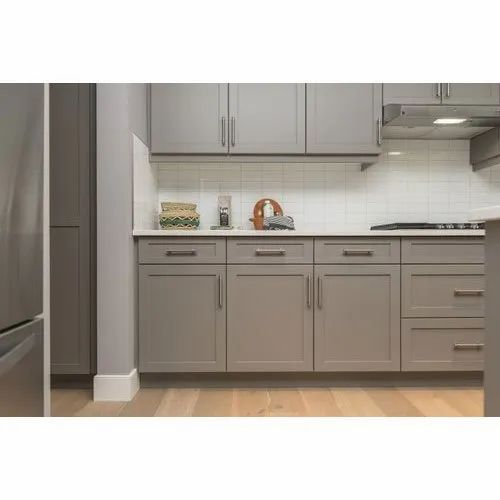 Silver Rectangular Stainless Steel Kitchen Cabinet Size Dimension 10 Feet Height Rs 1500 Square Feet Id 21383786312