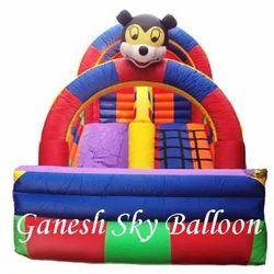 Ganesh Sky Balloon Inflatable Slide Bouncy