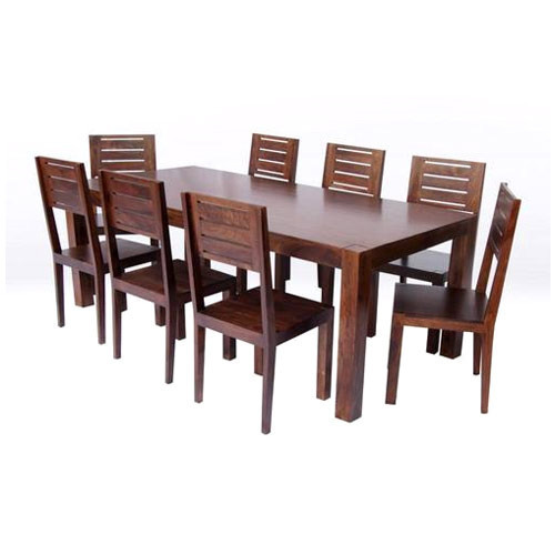 Modern Wooden Dining Set Wooden Dining Set Triveni Furniture Impressive Modern Wood Dining Room Table
