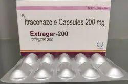 Extrager-200 Itraconazole 200 mg Capsules, Prescription, Exodrug