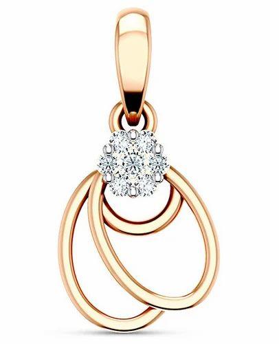 Jp0423 Golden Jubilee Diamond Pendant