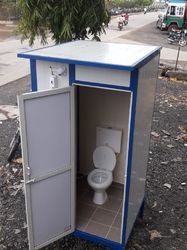 single seater mobile  toilet