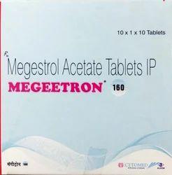 Megestrol Acetate Tablets IP, 10X1X10 Tablets