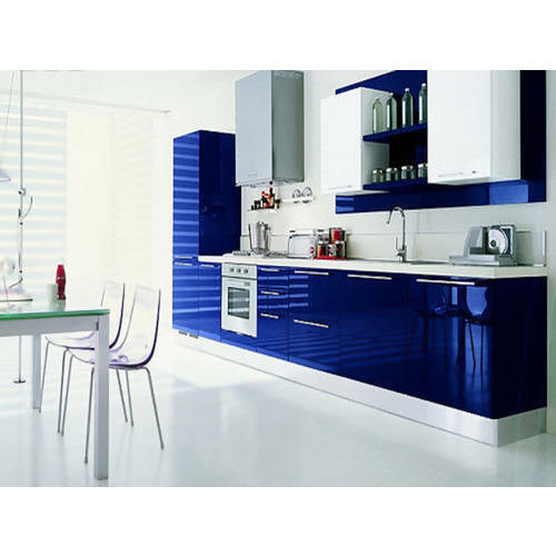 Modern Acrylic Modular Kitchen, Rs 1500 /square feet Ample ...