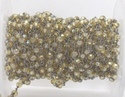Blue Quartz Gemstone Beaded Jewelry Chain