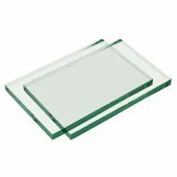 Rectangular 3.5mm Plain Glass, For Partition