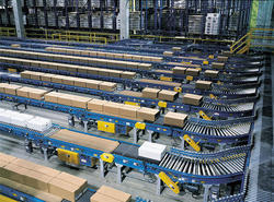 Assembly Line Roller Conveyor Automation