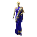 Zari Party Wear Georgette Ladies Saree