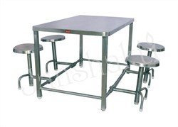 Stainless Steel Canteen Dining Table