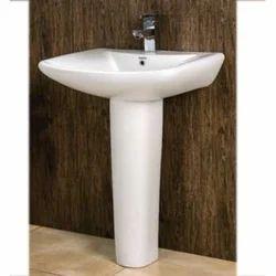 Sagar With Pedestal Wash Basin