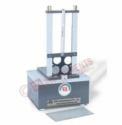 Collapsibility Tester for Squeezing Aluminum Tubes