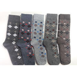 Cotton Designer Men Sock