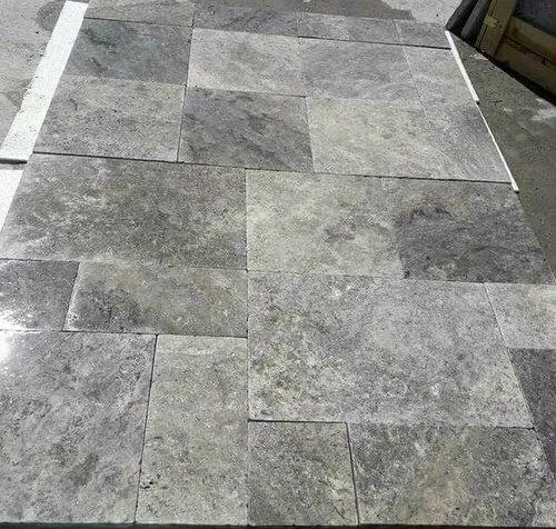 Grey Slate Flooring Tiles Size 77335