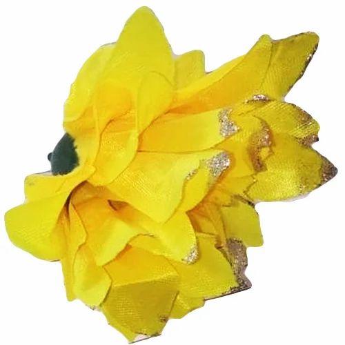 Artificial yellow flower heads at rs 30 dozen fake flower kritim artificial yellow flower heads mightylinksfo