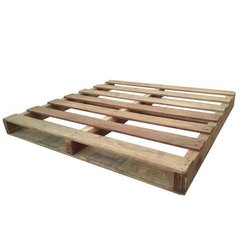 Rectangular Hardwood Two Way Wooden Pallet Box, For Industrial