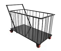 Mild Steel Utility Trolley