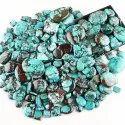 Natural Tibetan Turquoise Cabochons Cut Gemstone
