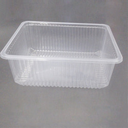 1000 ml Plastic rectangular tray