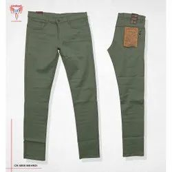 Slim Fit Formal 100% Cotton Trousers