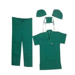 Green Medical Scrub Suit